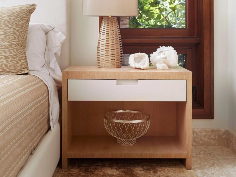 Custom Made Bedside Tables by Luxury Designers - Soucie Horner, Ltd.