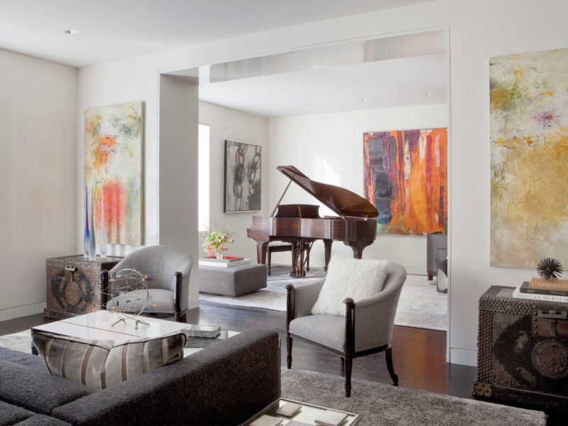NYC Luxury Apartment Transformed by Interior Designers at Soucie Horner, Ltd. in Chicago, IL