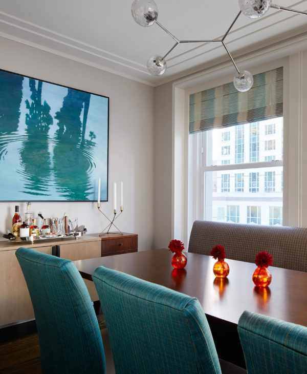 Luxury urban living: there's no rule that says you can't retreat to a metropolitan city to relax and recharge. Luxury design tips by Soucie Horner, Ltd.