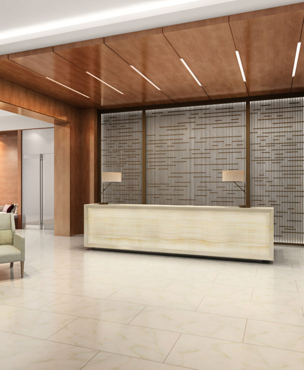 Chicago luxury apartment building developed by Fifield Realty Corp & architected by a luxury interior design firm in Chicago, Soucie Horner, Ltd.