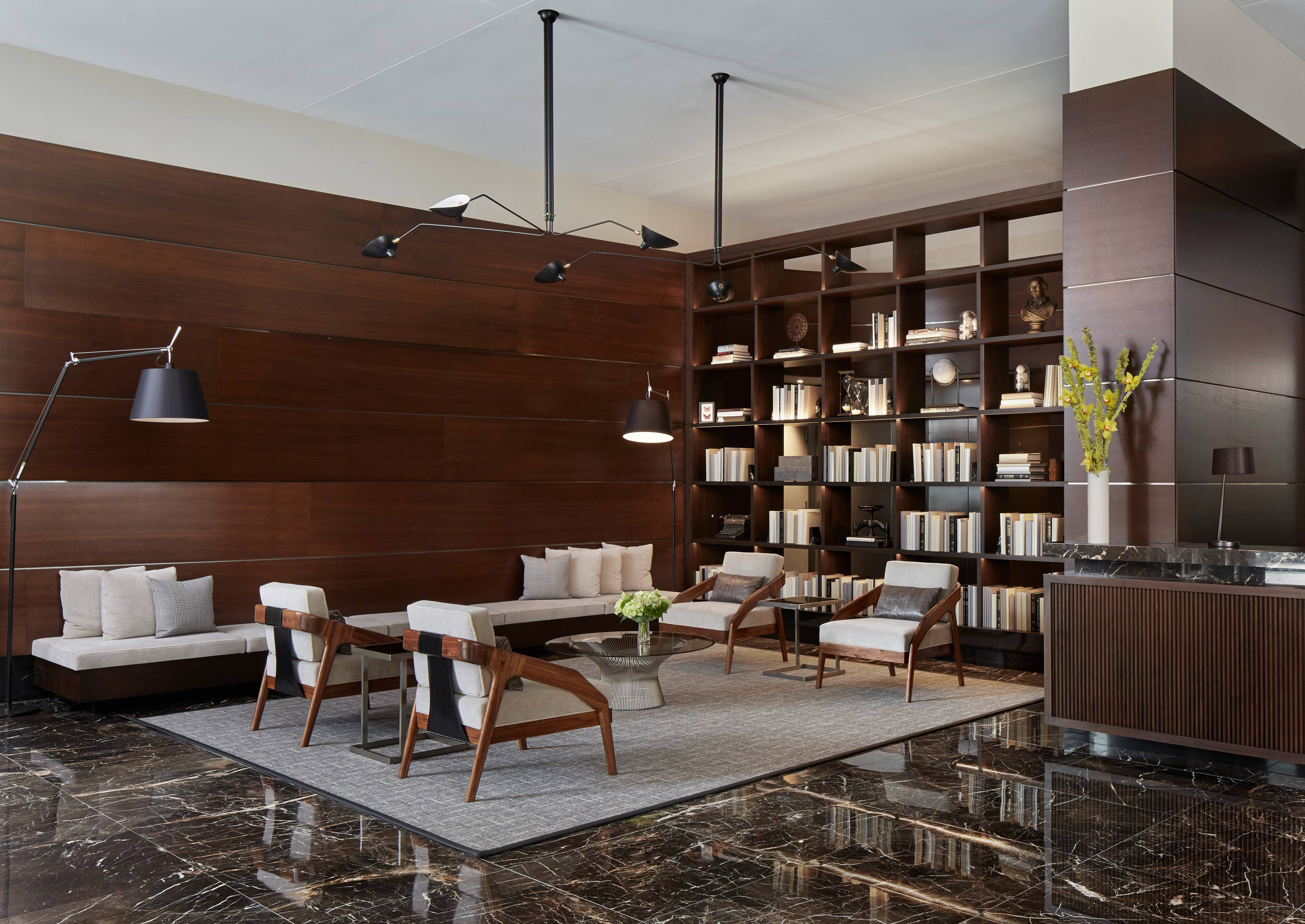 Burnham Pointe's Lobby Transformation in Chicago - Soucie Horner, Ltd.