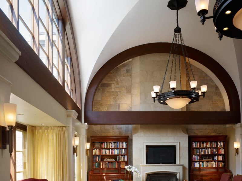 Custom Chandelier by Luxury Interior Design Firm in Chicago - Soucie Horner, Ltd.