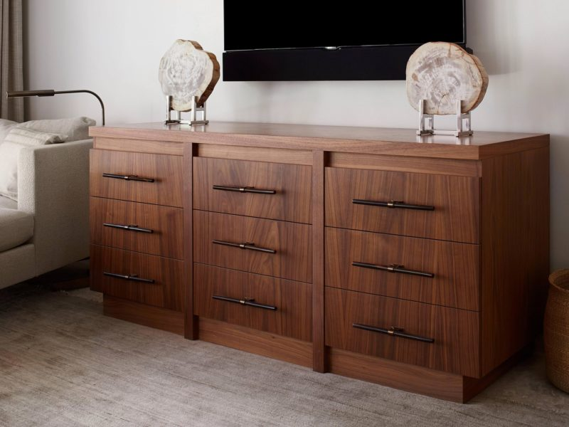 Custom Made Bedroom Dresser by Luxury Designers - Soucie Horner, Ltd.