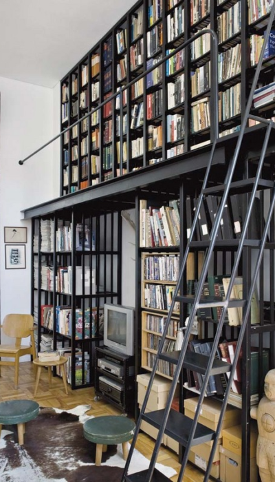 Library Ladder Ideas From Luxury Interior Design Firm
