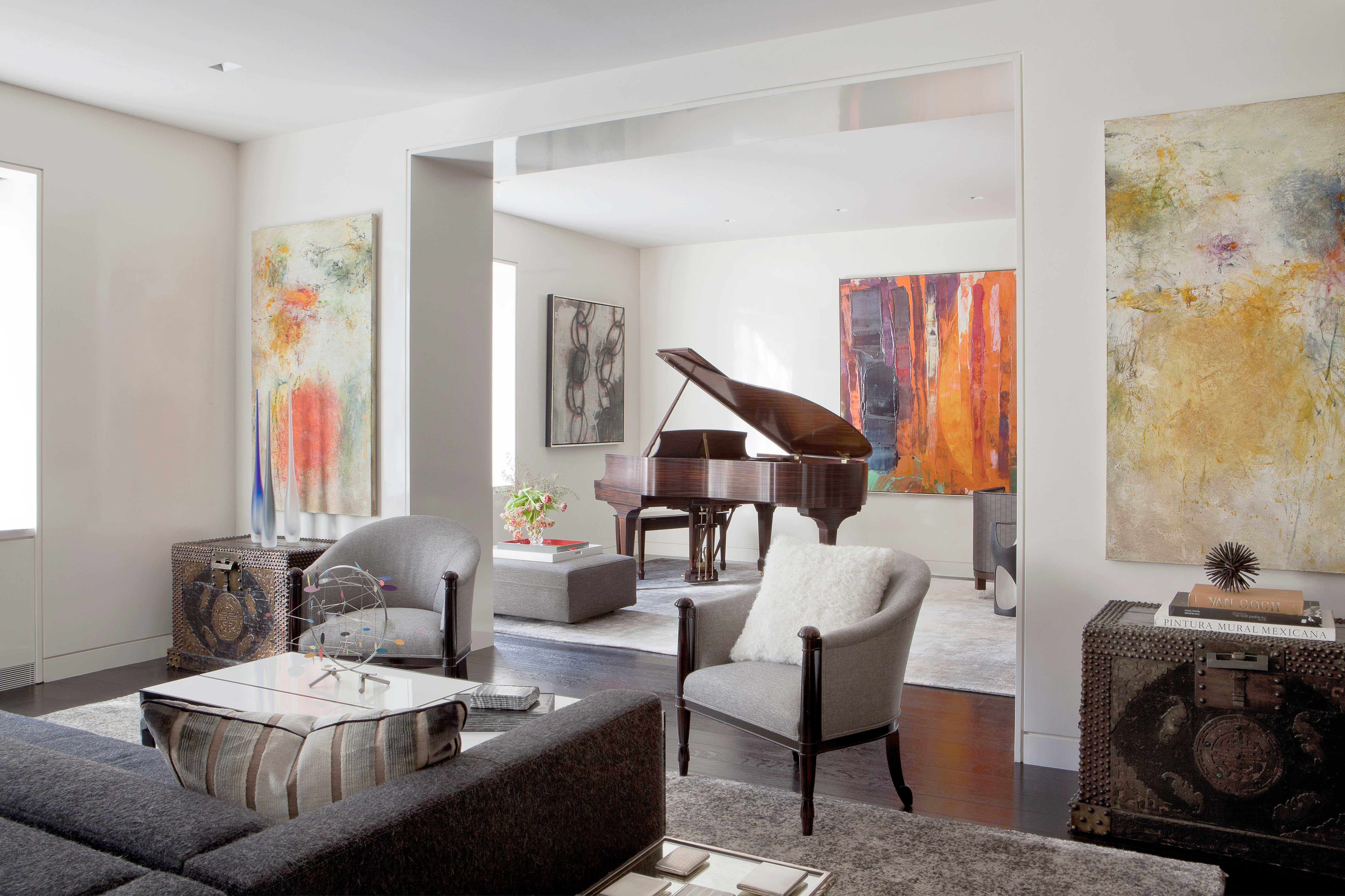 Enjoyable Nyc Luxury Apartment Transformed Home Design Soucie Interior Design Ideas Ghosoteloinfo