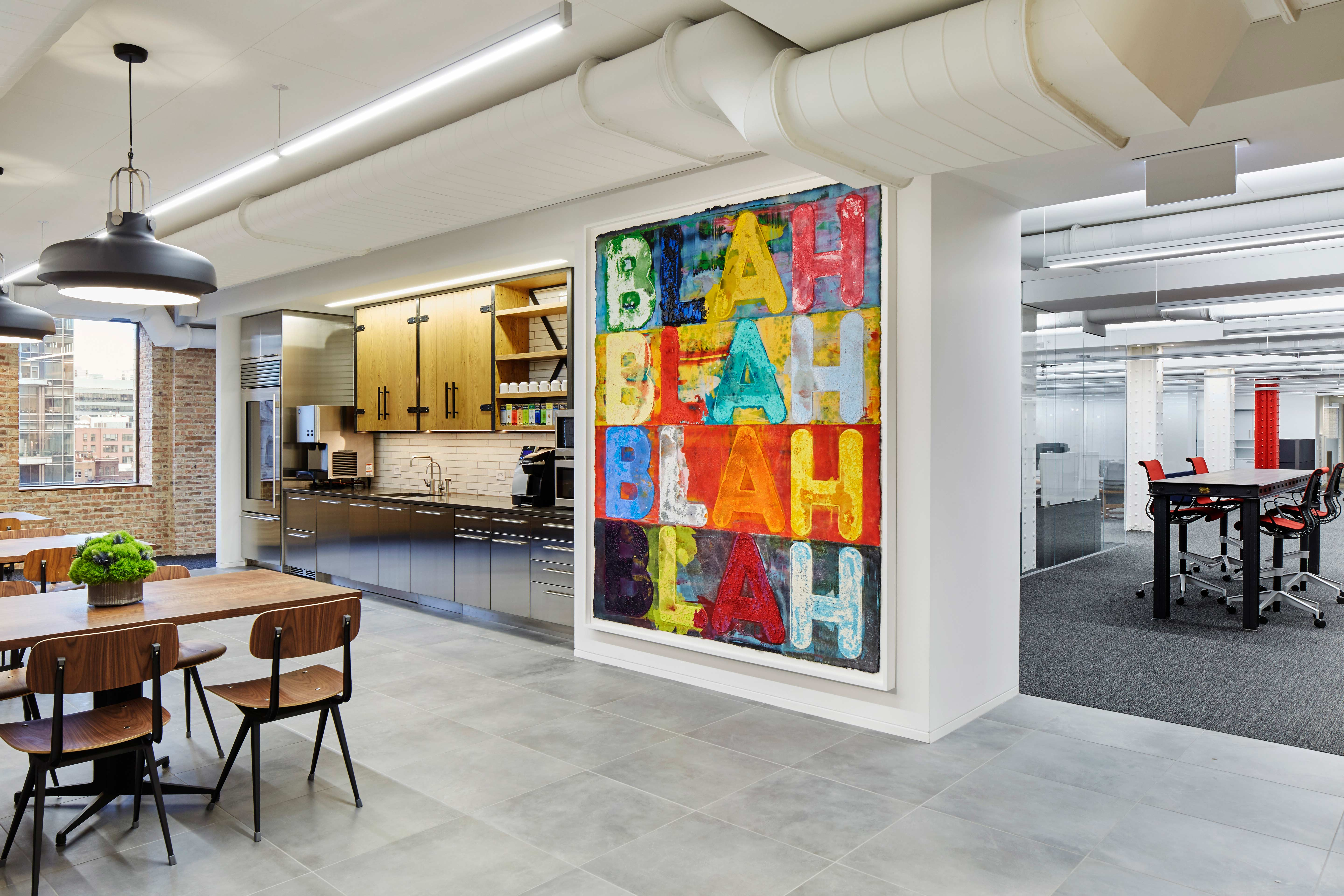 Chicago Office E Transformed By Interior Designers Soucie Horner Ltd