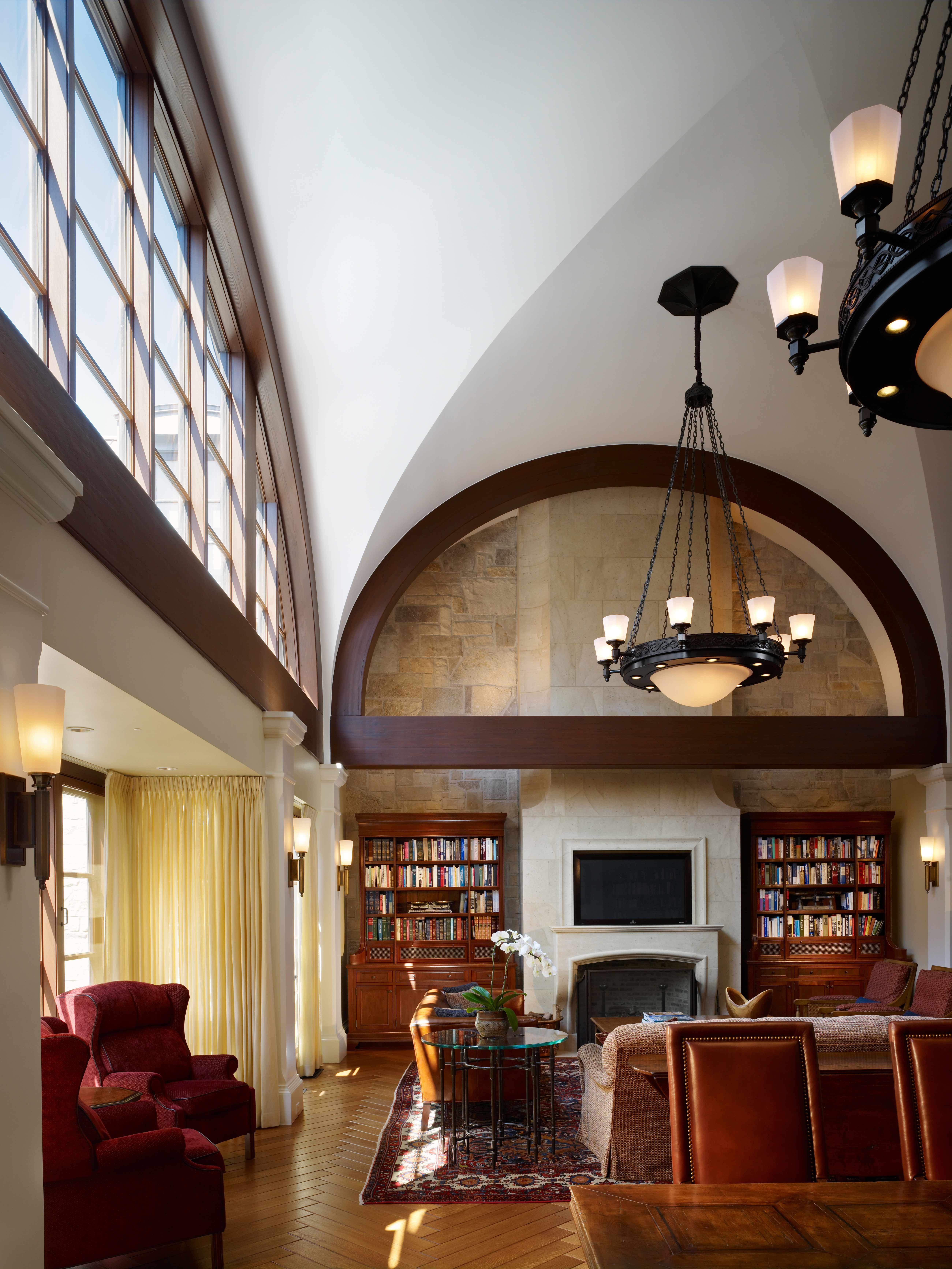 Custom chandelier by luxury interior design firm soucie - Interior design firms chicago ...